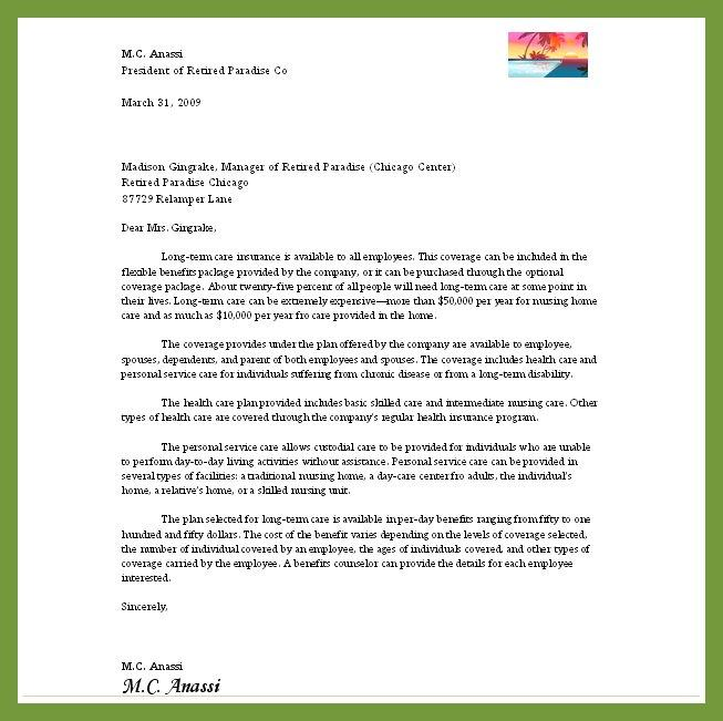 Buisness Letter: Show Me Business Letter Format